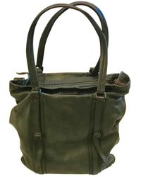 Burberry Leather Weekend Bag - Green