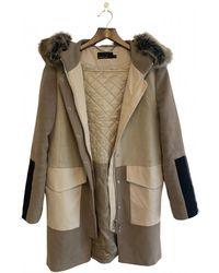 Karen Millen Coat - Natural