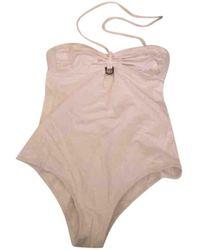 Dior White Synthetic Swimwear