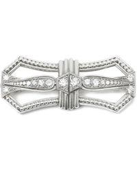 Tiffany & Co. Spilla in platino bianco