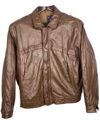 Burberry Leather Jacket - Multicolor