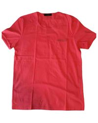 Givenchy Red Cotton T-shirt