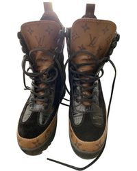 Louis Vuitton Laureate ankle Geschnürt boots - Schwarz