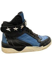 Givenchy Sneakers alte Tyson in Pelle - Blu