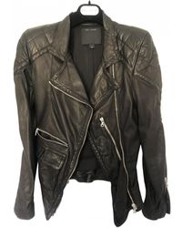 Marc Jacobs Leather Jacket - Black