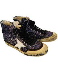 Golden Goose Deluxe Brand Francy Mit pailletten Sneakers - Blau