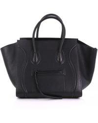Céline - Luggage Phantom Leather Tote - Lyst