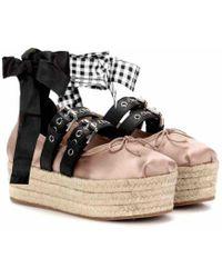 Miu Miu Ballet Flats - Pink