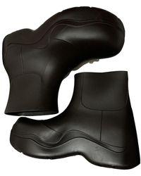 Bottega Veneta Wellington Boots - Brown