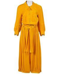 Sonia Rykiel Yellow Velvet