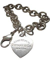 Tiffany & Co. Return To Tiffany Silver Silver Bracelet - Metallic