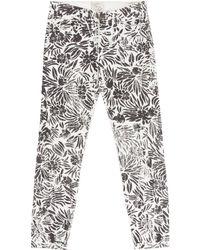 Diane von Furstenberg - Cotton Jeans - Lyst