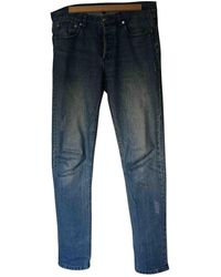 A.P.C. Blue Cotton Jeans