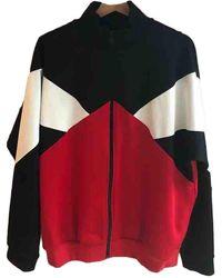Maison Margiela Pull.Gilets.Sweats en Polyester Multicolore - Rouge
