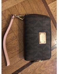 Michael Kors Leather Wallet - Black