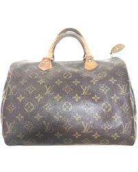 Louis Vuitton Speedy Leder Handtaschen - Braun