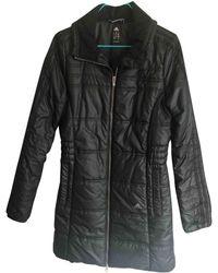 adidas Black Polyester Coat