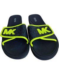 Michael Kors Black Rubber Sandals