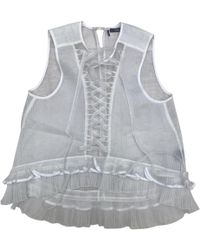 Isabel Marant - Pre-owned White Silk Tops - Lyst