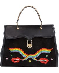 Olympia Le-Tan - Pre-owned Black Leather Handbags - Lyst