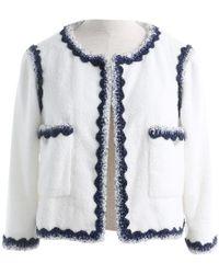 Chanel White Cotton