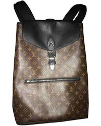 Louis Vuitton Palk Leinen Taschen - Braun