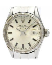 Rolex Lady Oyster Perpetual 24mm Uhren - Mettallic
