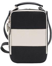 Sonia Rykiel Pavé Black Leather Handbag
