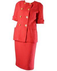 Celine Kostüm - Rot