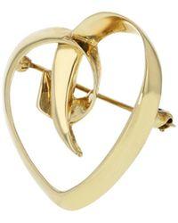 Tiffany & Co. Spilla in oro giallo dorato Paloma Picasso - Metallizzato