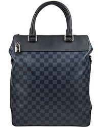 Louis Vuitton - Pre-owned Navy Leather Bags - Lyst