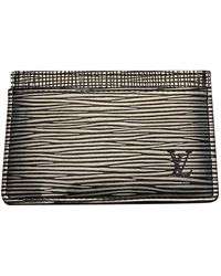 Louis Vuitton Anthracite Leather Small Bag Wallets & Cases - Multicolour
