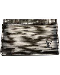 Louis Vuitton Piccola pelletteria in pelle antracite - Multicolore
