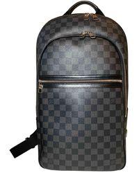 Louis Vuitton Michael Backpack Leinen Wochenende tasche - Mehrfarbig