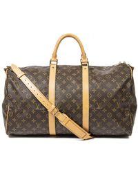 Louis Vuitton Keepall reisetaschen - Braun