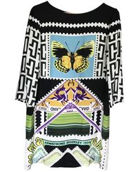 Mary Katrantzou Silk Mini Dress - Multicolour