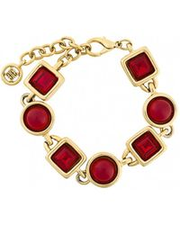 Givenchy - Red Metal Bracelet - Lyst