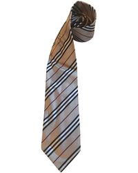 Burberry Silk Tie - Natural