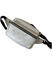 Louis Vuitton Outdoor Leinen Taschen - Mehrfarbig