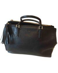 Anya Hindmarch Pimlico Leather Handbag - Black