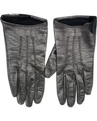 Miu Miu | Pre-owned Leather Gloves | Lyst
