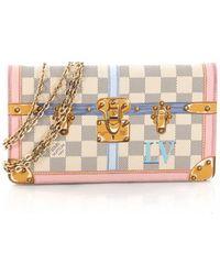 Louis Vuitton - Pre-owned Cloth Handbag - Lyst