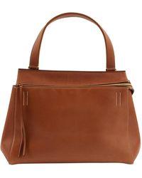 Celine Edge Leder handtaschen - Braun