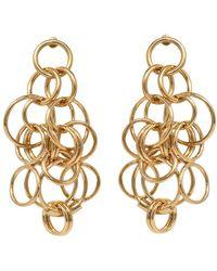 Chloé Earrings - Metallic