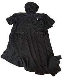 adidas Black Synthetic Coat