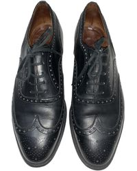 Church's Leather Lace Ups - Black