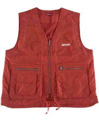 Supreme Orange Polyester Jacket