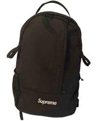 Supreme Black Synthetic Bag