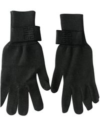 Givenchy Wool Gloves - Green