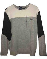 Nike Jersey en algodón gris - Multicolor